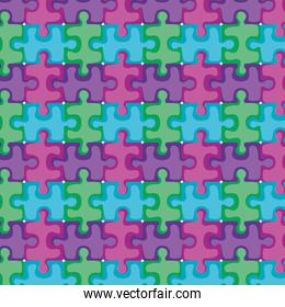 puzzle game pieces pattern