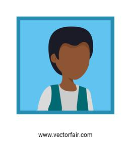 picture of young black man