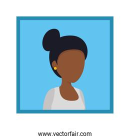 picture of young black woman