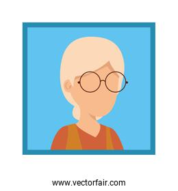 picture of old woman