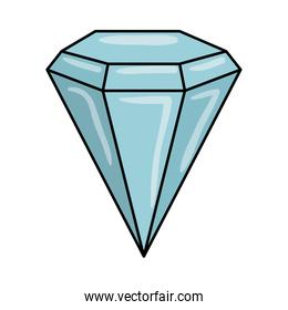 diamond luxury isolated icon