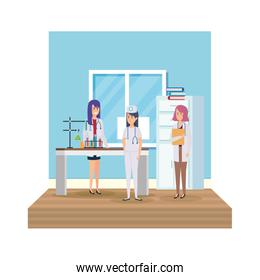 professionals female doctors in the workplace