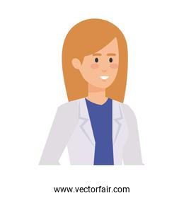 professional female doctor avatar character