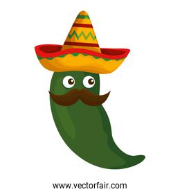 chili pepper vegetable icon