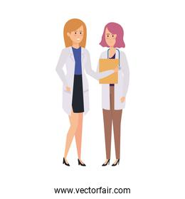 professionals female doctors characters