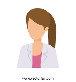 professional female doctor character