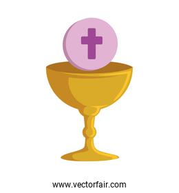 first communion in chalice