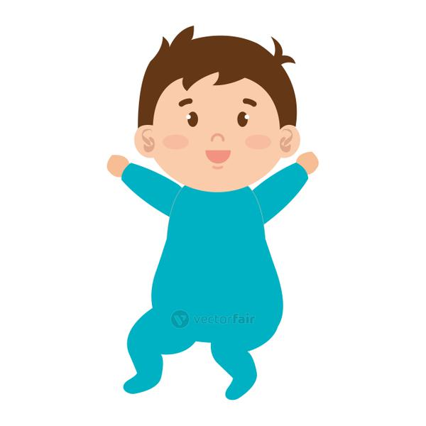 little male baby character