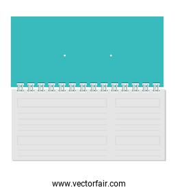 calendar with commercial promo print
