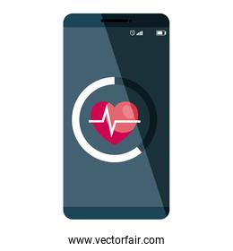 smartphone technology with heart cardio application
