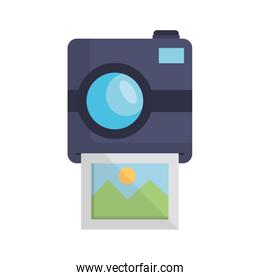 photographic camera with picture snapshot