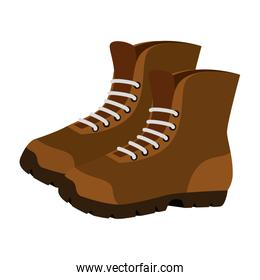 boots shoes adventure accessory icon