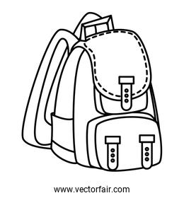 camping travel bag accessory icon
