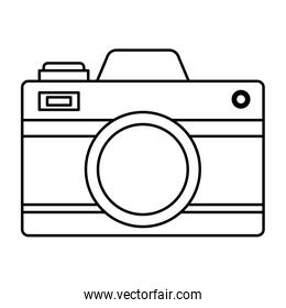 camera photographic gadget isolated icon