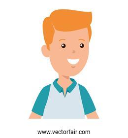 young boy avatar character icon