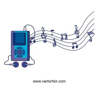 mp3 music player electronic icon