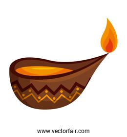 candle indian ornamental accessory icon