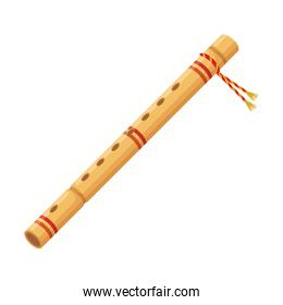 bamboo flute indian musical instrument