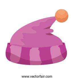 baby hat sleeping isolated icon