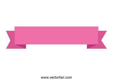 ribbon frame elegant isolated icon
