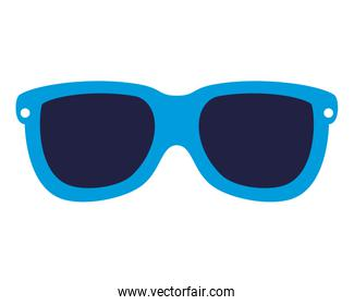 summer sunglasses accessory isolated icon