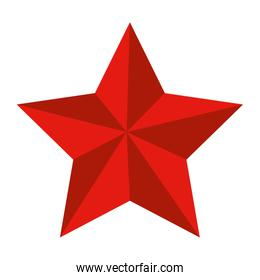 award star decorative isolated icon