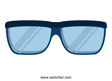 eye glasses accessory isolated icon