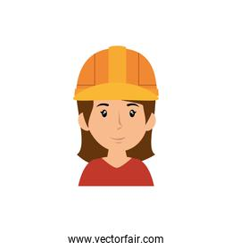 Woman worker cartoon