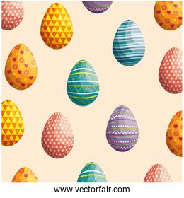 eggs easter background