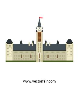 canadian parliament building icon
