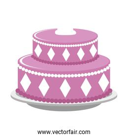 sweet and delicious cake