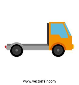 delivery truck isolated icon