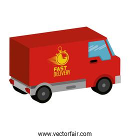 delivery van with chronometer