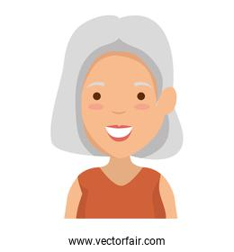 old woman avatar character