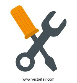 wrench with screwdriver tools