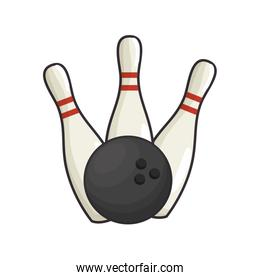 Bowling sport game