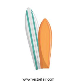 pair of surf table
