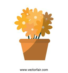 flowers in a pot icon