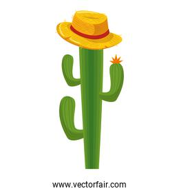 cactus with hat icon