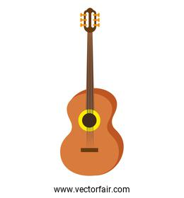 Acoustic guitar music instrument