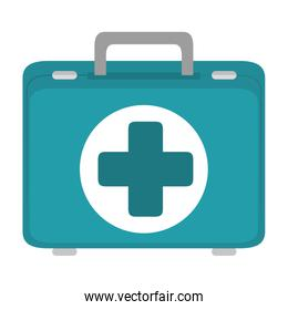 First aid suitcase