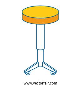 seat chair isolated icon