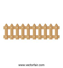 fence wooden isolated icon