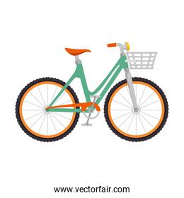 cute bicycle with basket