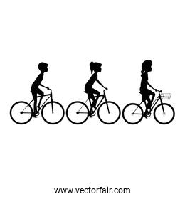 cycling people riding a bicycle
