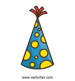 party hat decorative icon