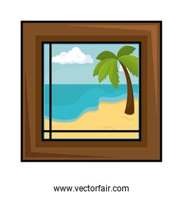 home picture isolated icon
