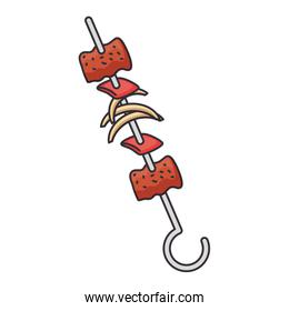 skewer of meats icon