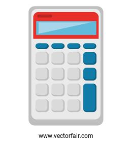 calculator device isolated icon