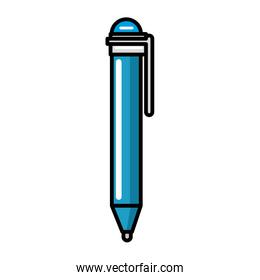 pen supply isolated icon